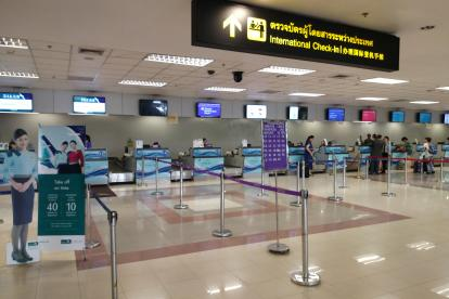 chiang mai airport checkin area