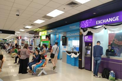 chiang mai airport currency exchanges