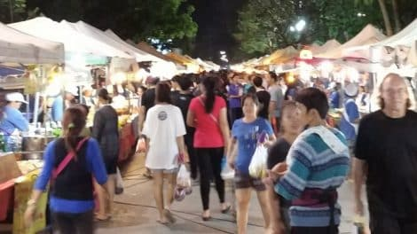 Chiang Rai Walking Street 01