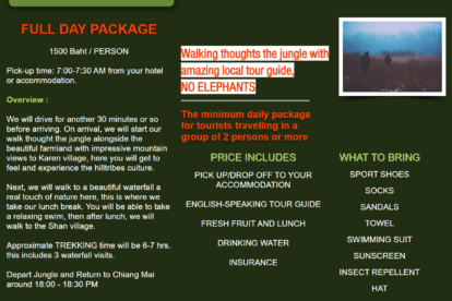 Jungle Trekking Tours
