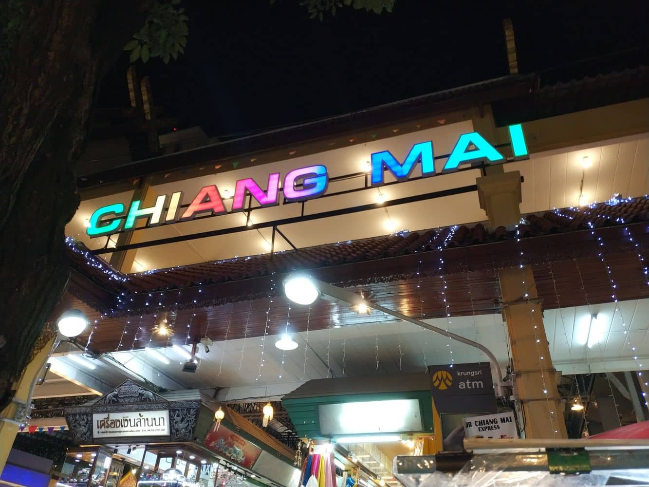 Chiang Mai Night Bazaar 01