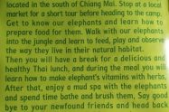 Into The Wild Elephant Camp